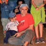 אביהו סופר עם יוסף בנו